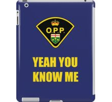 You down with OPP? iPad Case/Skin