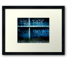 urb reverberation (Discovery)  Framed Print