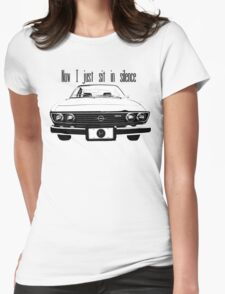 Car Radio Womens Fitted T-Shirt