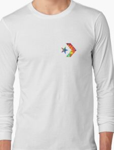 Tie Dye Converse Logo  Long Sleeve T-Shirt