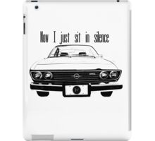 Car Radio iPad Case/Skin