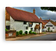 Horsebreakers Arms - Hutton Sessay. Canvas Print