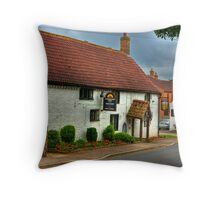 Horsebreakers Arms - Hutton Sessay. Throw Pillow