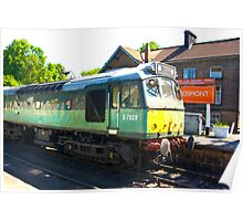 D7628 at Grosmont Poster