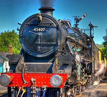 No.45407 at Grosmont by Trevor Kersley