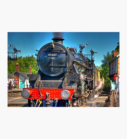 No.45407 at Grosmont Photographic Print