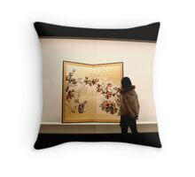 A thousand thoughts and words... Throw Pillow