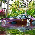 Ferrari 1951 212 Export Vignale Cabriolet, Under Water by Jack DiMaio