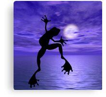Frog Dance Canvas Print