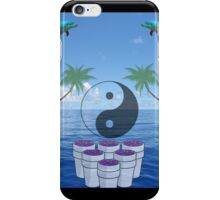 vaporwave ying yang iPhone Case/Skin