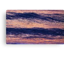 lumps and swirls Canvas Print