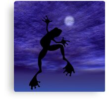 Frog Dancing Canvas Print