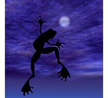 Frog Dancing Photographic Print
