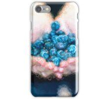 I Love Blueberries [Gary Guthrie] iPhone Case/Skin