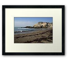 Montanya de Oro Beach Framed Print