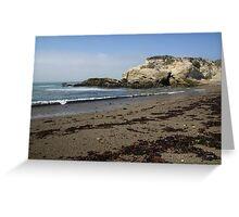 Montanya de Oro Beach Greeting Card