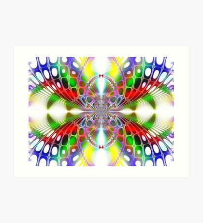 Rainbow Sirocco Art Print
