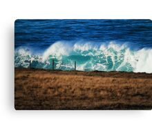 Mutant wave Canvas Print