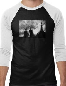 Gothic Romance Men's Baseball ¾ T-Shirt