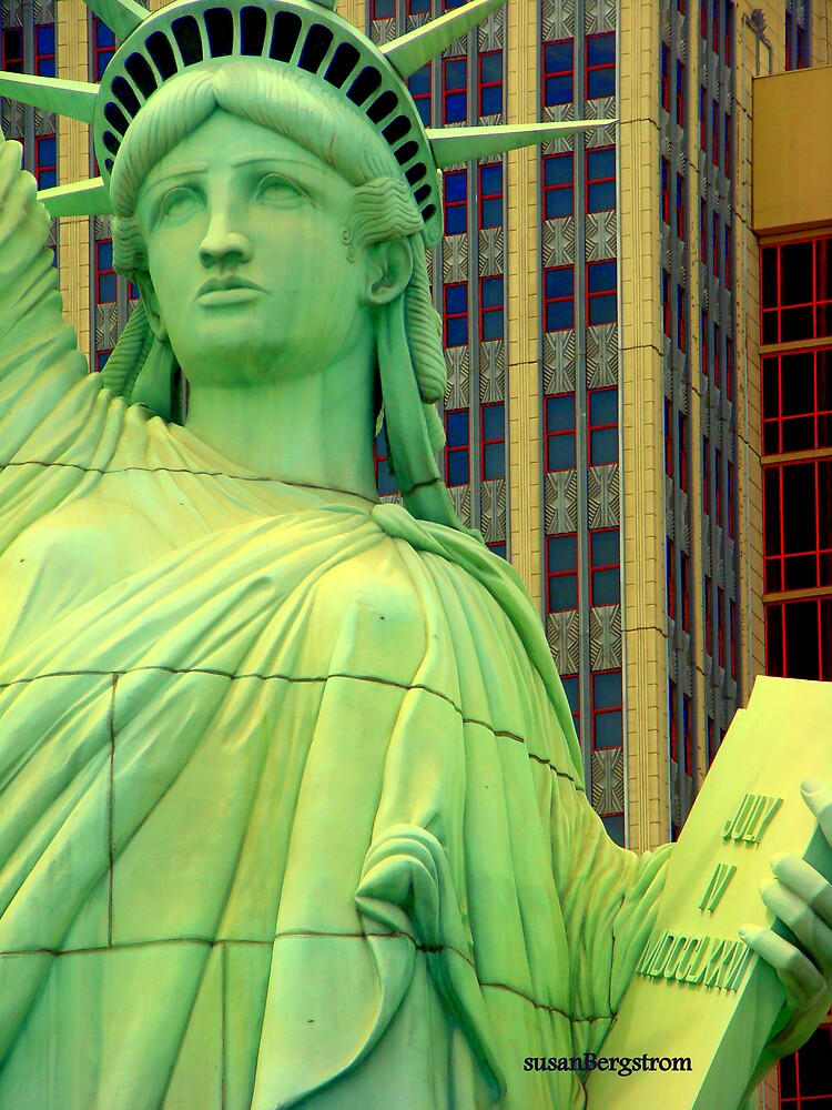 Lady Liberty by Susan Bergstrom