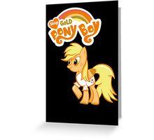 My Little Ponyboy Greeting Card