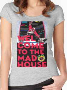 Welcome to the Madhouse Women's Fitted Scoop T-Shirt