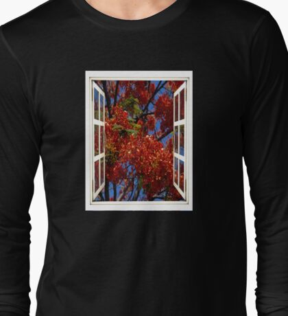 Red Canopy Long Sleeve T-Shirt