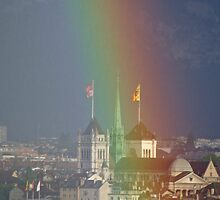 rainbow cathedrale by Fran E.