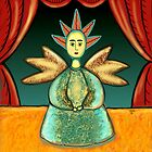 FOLK ART ANGEL by Frances Perea