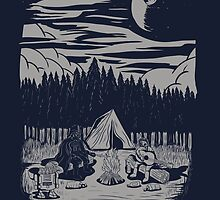 camping by motymotymoty