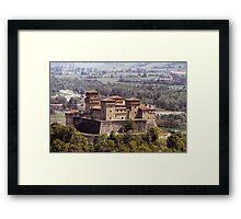 Italian Castles - Castle Of Torrechiara Framed Print