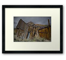 Dont Breath! Framed Print