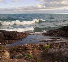 Lake Superior Shore by Karen Karl