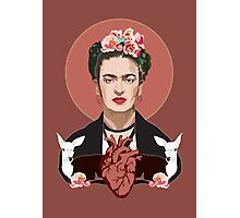 Frida (Dark) Photographic Print