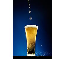 One beer Photographic Print