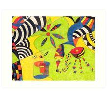 Fiesta No. 5 Art Print