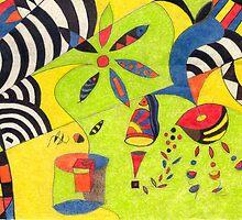 Fiesta No. 5 by Mariana M Martin
