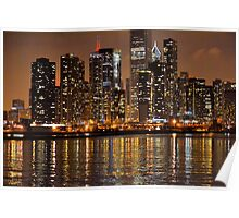 Chicago Lights Poster