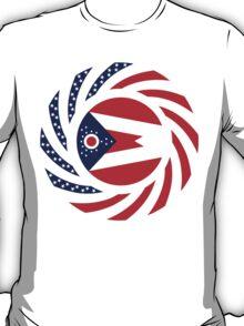 Ohio Murican Patriot Flag Series T-Shirt
