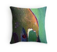 Unique tree trunk Throw Pillow