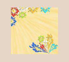 Cream floral pattern Unisex T-Shirt