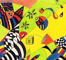 Fiesta No.8 by Mariana M Martin
