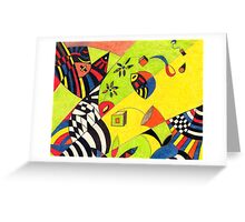 Fiesta No.8 Greeting Card