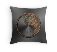 Aquarius & Rabbit Yin Earth Throw Pillow