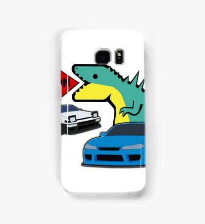 JDM dino & cars Samsung Galaxy Case/Skin