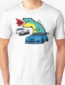 JDM dino & cars Unisex T-Shirt