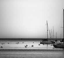Yachts II by Scott Ruhs
