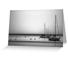 Yachts II Greeting Card