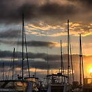 Queenscliff = Morning Shrouds and Stays by Larry Lingard-Davis