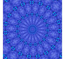 Blue circles Photographic Print